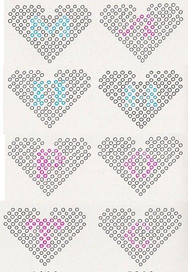 буквы из бисера схемы