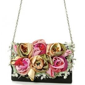Оригинальные дизайнерские сумки - изысканная отделка бисером, камнями...