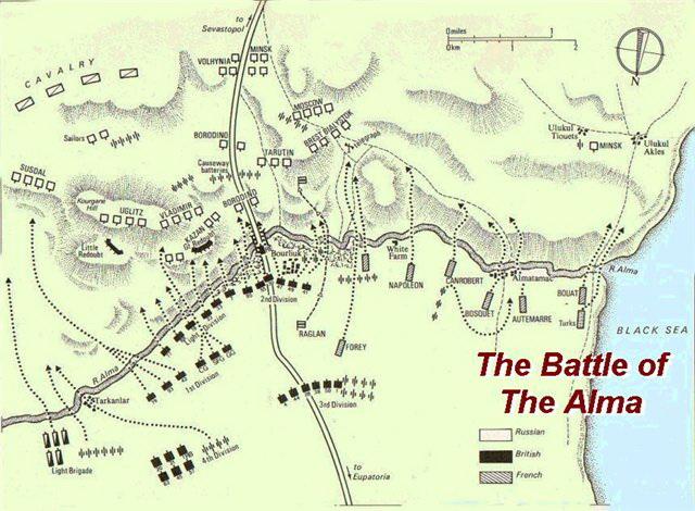 Альминское сражение,ч.3.
