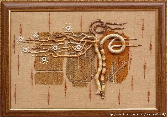 Картины из верёвки своими руками 5