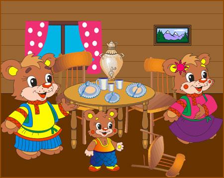"""Предпросмотр - Схема вышивки  """"Три медведя """" - Схемы автора  """"Shy-le-na..."""