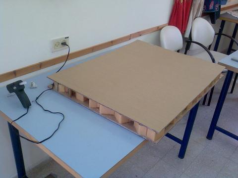 Журнальный столик из картона своими руками мастер класс