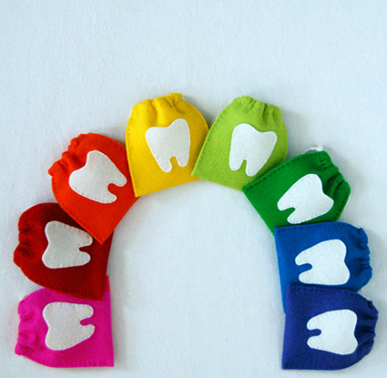 Поделка зуб для детей