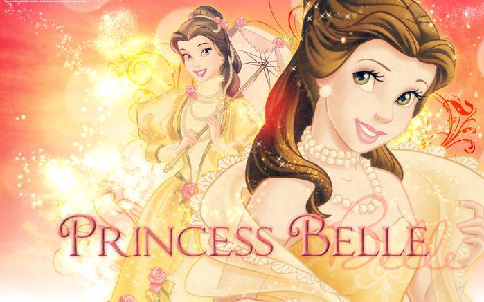 Disney princess belle wallpaper