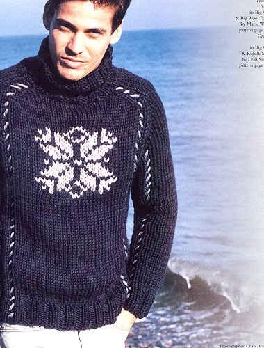 вязание модные мужские. вязание спицами мужские полуверы свитера.