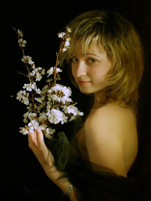 Какие правдивые стихи, Сашенька. Самая красивая женщина - любимая