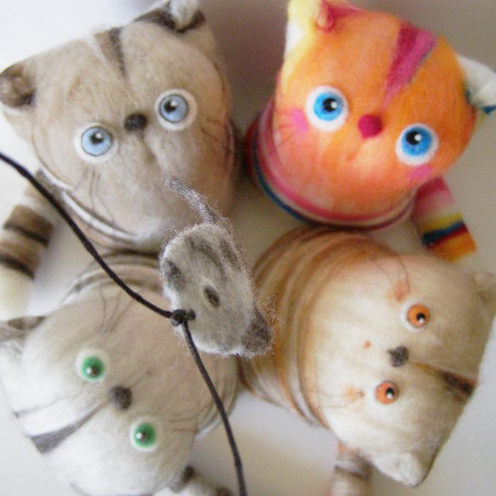 Фельдц - оригинальные игрушки из шерсти.