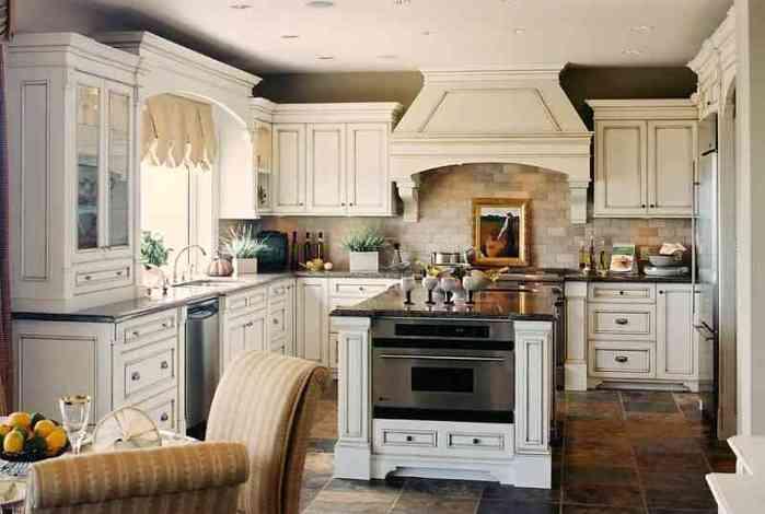 английский стиль в интерьере кухни.