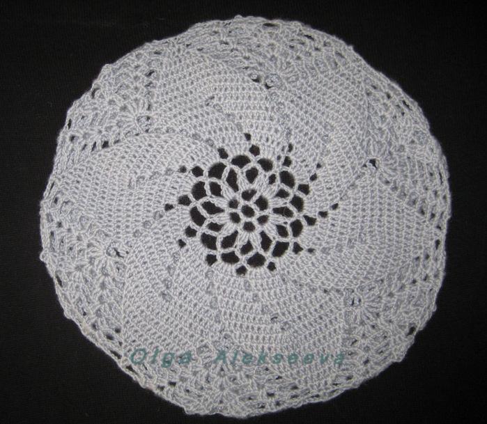 Филейное вязание. ажурный