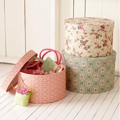 Коробки для хранения вещей декоративные своими руками