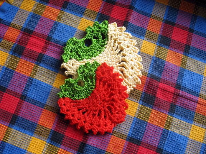 легкое вязание крючком ягоды