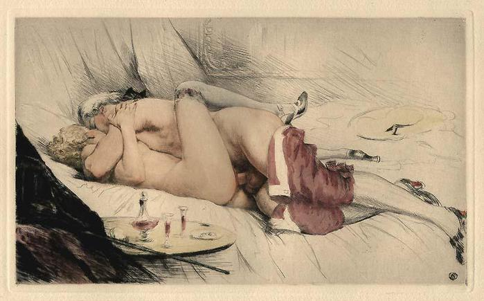 Репродукции картин изображения проститутку