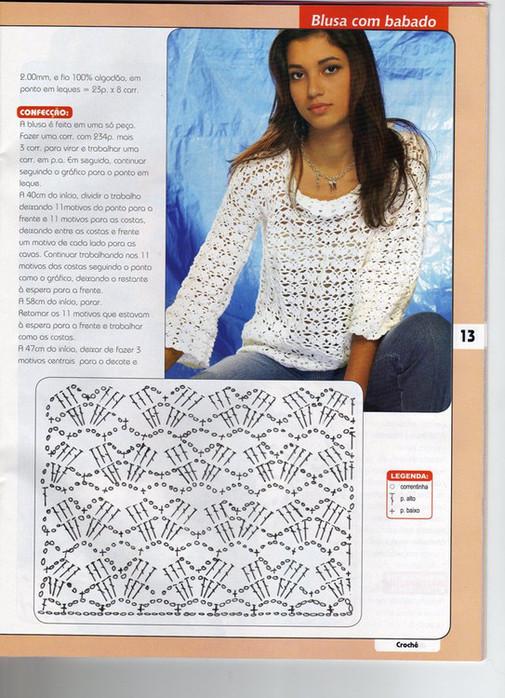 Вязание крючком для женщин фото со схемами