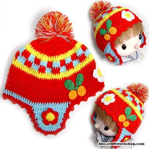 Образцы вязания крючком детских летних шапочек и вязание крючком схемы.