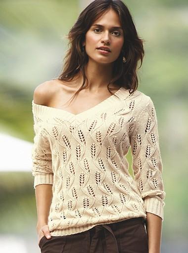 КофточкаАриэль. вязание ажурной кофточки для девочки спицами.