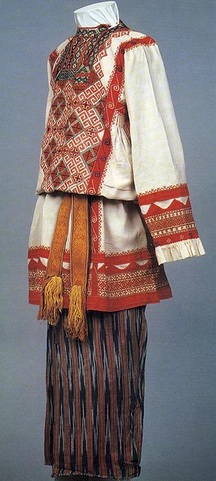 Русские народный костюм своими руками