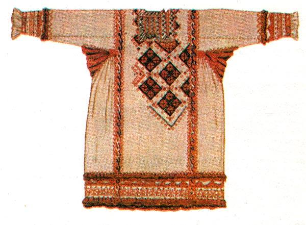Национальные костюмы, русская национальная одежда, русский.
