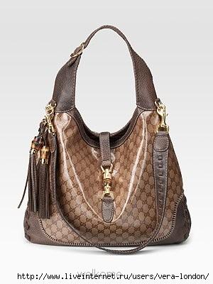 Gucci: GG Print New Jackie Large.  Большие сумки.  Автор: Vica В...