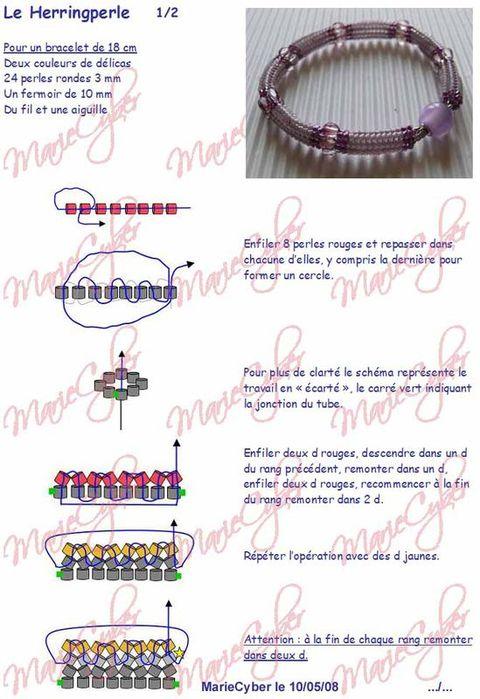 пошаговая схема плетения