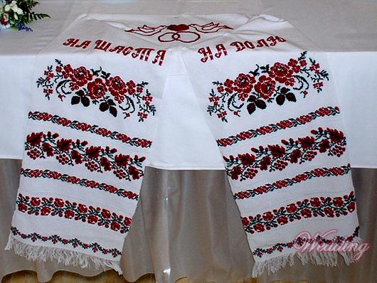 Рхема вышивки Рушник