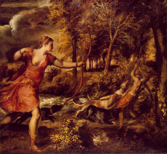 "Британские галереи выкупили картину Тициана  ""Диана и Каллисто """