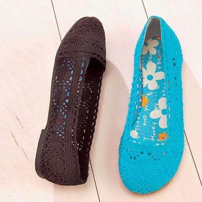 На фото: детей и взрослых! вязаная летняя обувь.