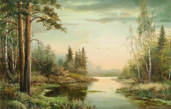 Картины Ольги Альбертовны наполнены реализмом, естественностью.