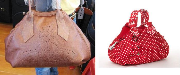 Модные сумки : Сумка от Vivienne Westwood.