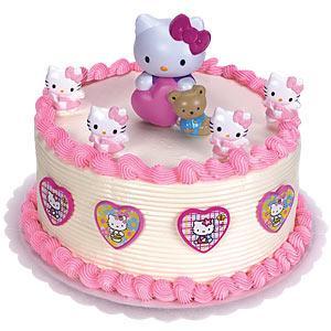 Pozitivka, торты для тебя!  Еда Hello Kitty.