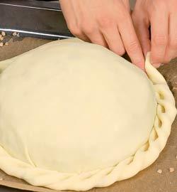 Как красиво защипать пирожки пошагово с