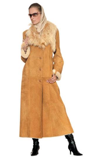 Следующая.  Модные женские дубленки.