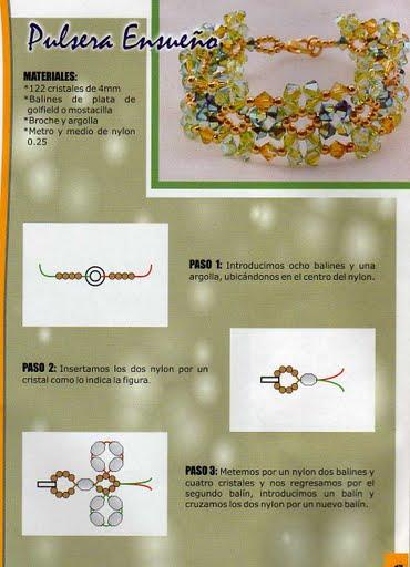 ...конкретно по украшениям из бисера Исправляюсь : ) Несколько несложных схем плетения браслетов из бисера и бусинок.