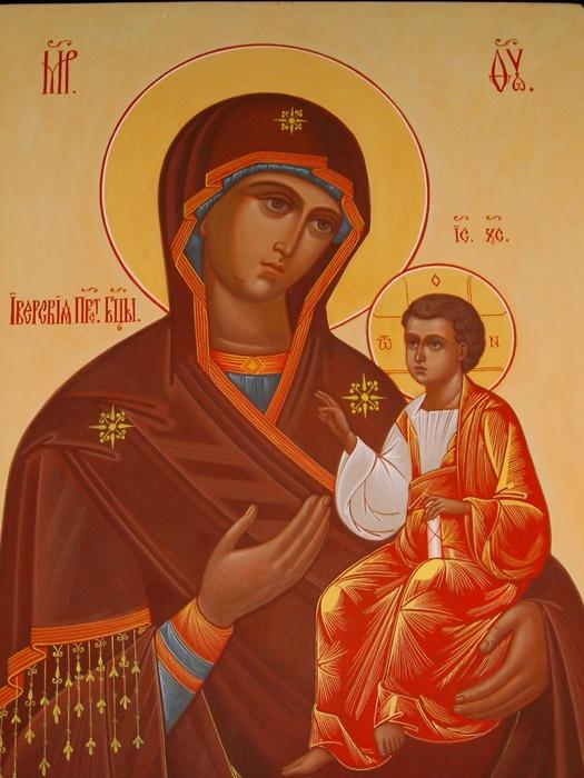 Божией Матери досталась в удел Иверия.