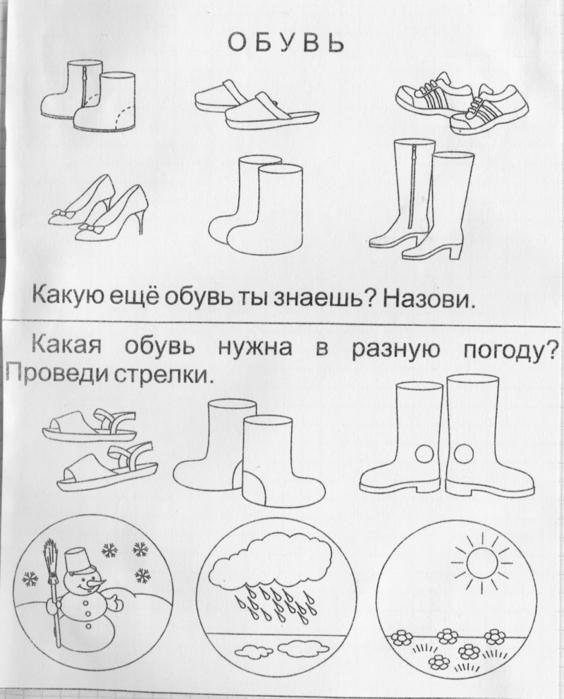 Раскраски обувь для детей распечатать - 8