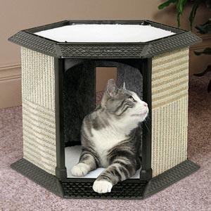 Домики для кошек своими руками из поролона
