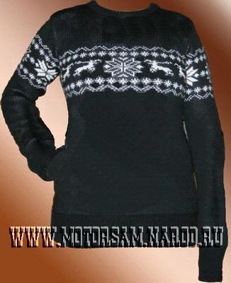 Схемы вязания свитеров в журналах