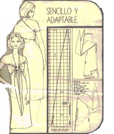 Представляем вам выкройку платья трансформера.  Ниже же мы приведём схемы, как носить платье трансформер.