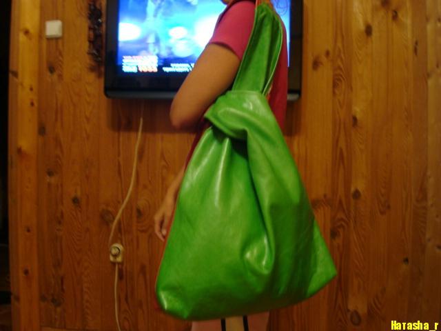 По этой выкройке можно сшить сумку любого размера, даже совсем маленькую, театральную сумочку.  Сумка без застежки.