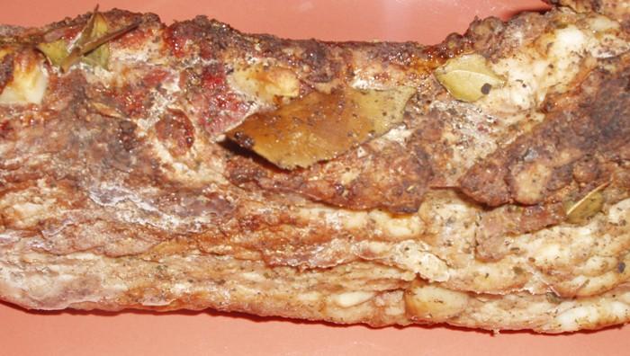Прослойка свиная рецепт с фото