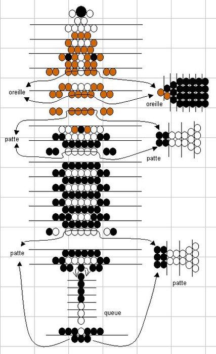 поделки из бисера схемы для начинающих сердце - Ппланета схем.