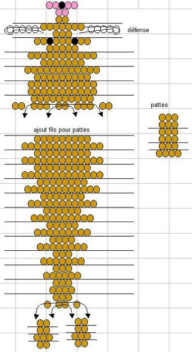 Рассмотрим схему плетения