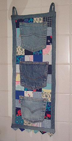 Кармашки из джинсов своими руками 100