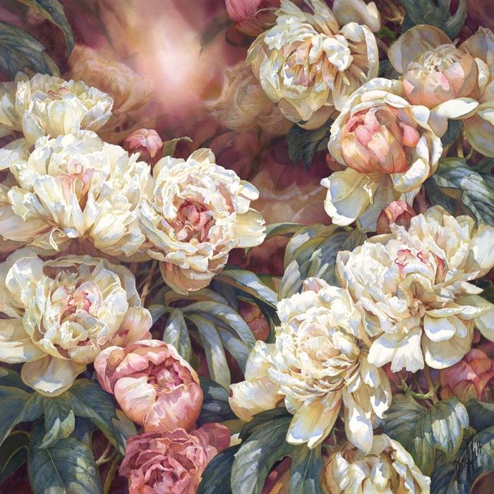 Ах лето...райские цветы от Darryl Trott.