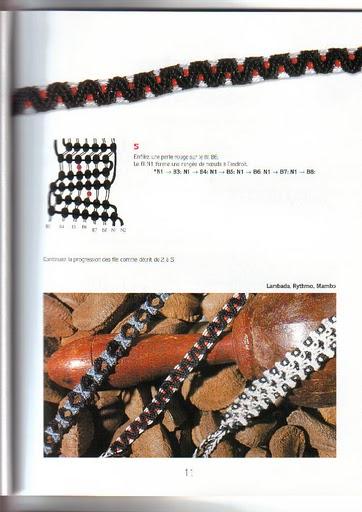 Схемы фенечек, браслетов.  Макраме.