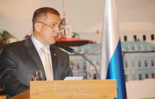 Год на посту Президента Татарстана