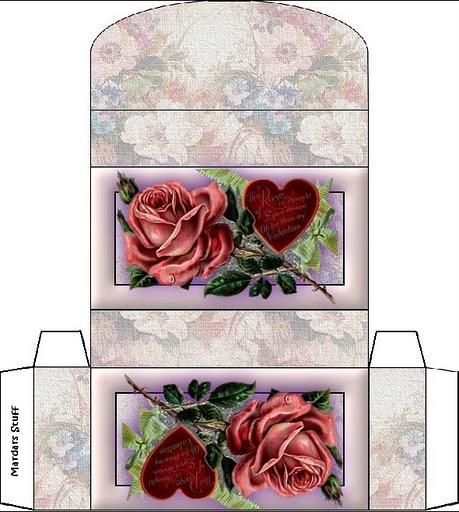 Очень много схем коробочек и другое  для увеличения кликнуть на картинке - остается распечатать и склеить.