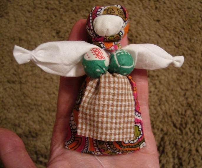 Кукла перевёртыш своими руками