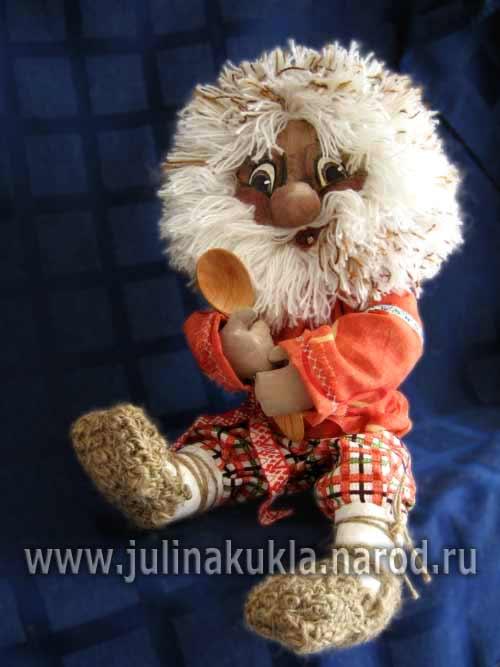 Выкройки куклы домовенка кузи