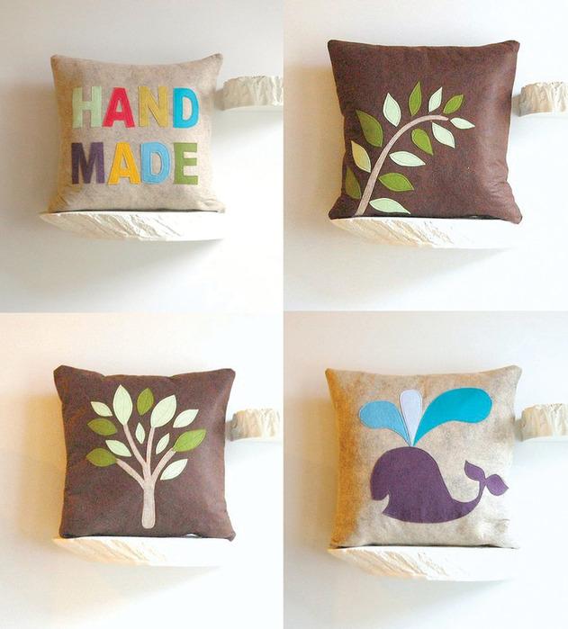Креативные подушки своими руками Мастер-классы в картинках