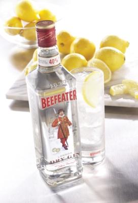 Страна.  Крепкость.  Beefeater London Dry Gin.  Бифитер.